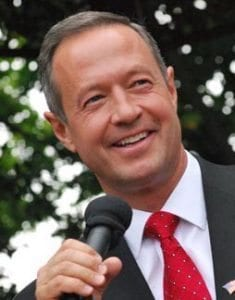 Martin O'Malley, former Governor of Maryland